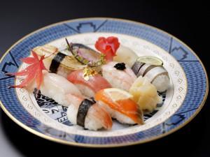 旬魚の握り盛り合わせ1200×900